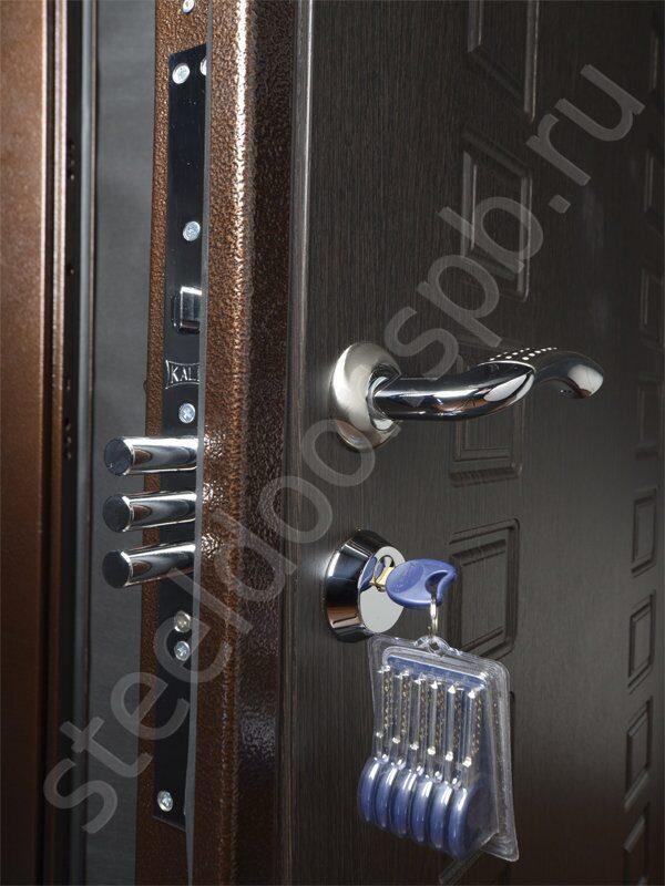входные офисные двустворчатые двери